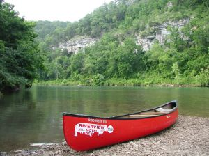using a canoe to save a life