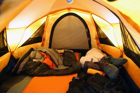 The right sleeping bag can help you stay warm in the winter