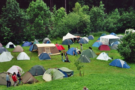 Close quarters camping breeds illnesses