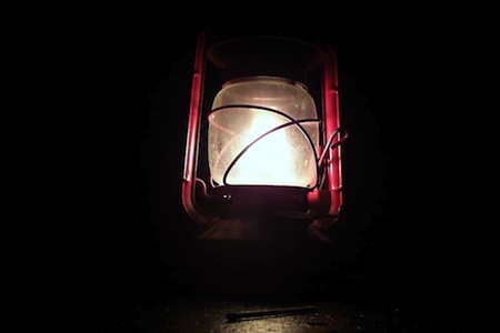 using oil lamps after the end of the world