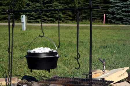 How to Heat a Dutch Oven to 350 Degrees – 3/23/12