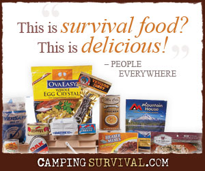 Camping Survival: Survival Food